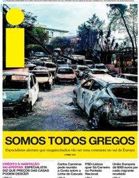 capa Jornal i de 25 julho 2018