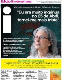 capa Jornal i de 27 julho 2018