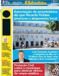 capa Jornal i de 30 julho 2018
