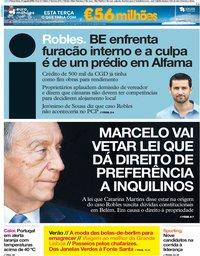 capa Jornal i de 31 julho 2018