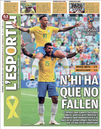 capa L'Esportiu de 3 julho 2018