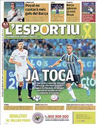 capa L'Esportiu de 5 julho 2018