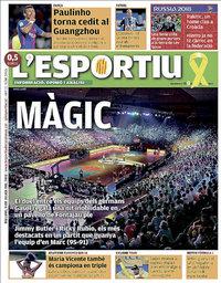 capa L'Esportiu de 9 julho 2018