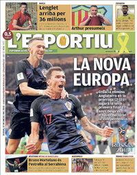 capa L'Esportiu de 12 julho 2018