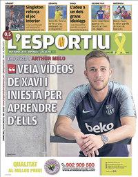 capa L'Esportiu de 18 julho 2018