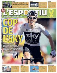 capa L'Esportiu de 19 julho 2018