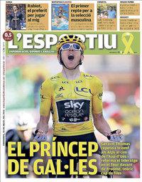 capa L'Esportiu de 20 julho 2018