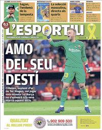 capa L'Esportiu de 21 julho 2018