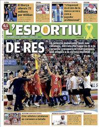 capa L'Esportiu de 23 julho 2018