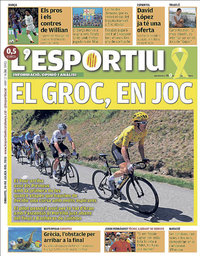 capa L'Esportiu de 24 julho 2018