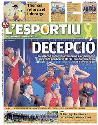 capa L'Esportiu de 26 julho 2018