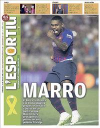 capa L'Esportiu de 31 julho 2018