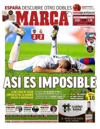 capa Jornal Marca de 4 fevereiro 2018