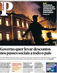 capa Público de 4 setembro 2018