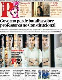 capa Público de 5 agosto 2018