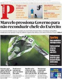 capa Público de 8 setembro 2018