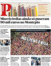 capa Público de 12 setembro 2018