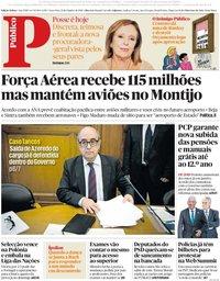 capa Público de 12 outubro 2018