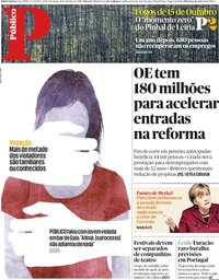 capa Público de 14 outubro 2018