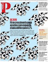 capa Público de 16 outubro 2018