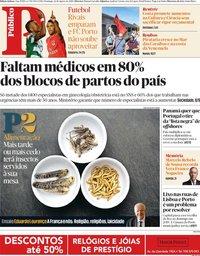 capa Público de 26 agosto 2018