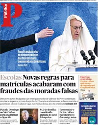 capa Público de 28 agosto 2018