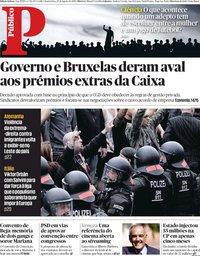 capa Público de 29 agosto 2018
