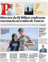 capa Público de 29 setembro 2018