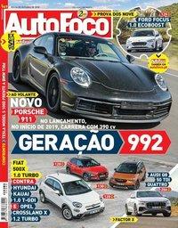 capa Revista Auto Foco de 18 outubro 2018