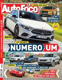 capa de Revista Auto Foco