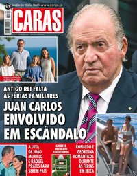 capa Revista Caras de 3 agosto 2018