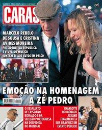 capa Revista Caras de 6 julho 2018