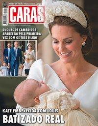 capa Revista Caras de 13 julho 2018