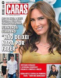 capa Revista Caras de 17 agosto 2018