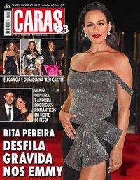 capa Revista Caras de 21 setembro 2018