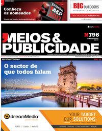 capa Revista Meios e Publicidade de 3 julho 2018