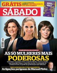 capa Revista Sábado de 4 maio 2018