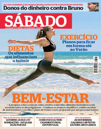 capa Revista Sábado de 17 maio 2018