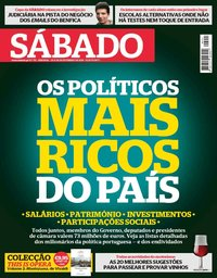 capa Revista Sábado de 20 setembro 2018