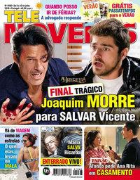 capa Revista Telenovelas de 6 julho 2018