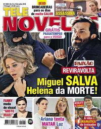 capa Revista Telenovelas de 13 julho 2018