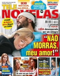 capa Revista Telenovelas de 20 julho 2018