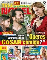capa Revista Telenovelas de 27 julho 2018