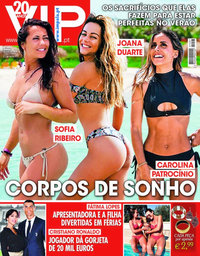 capa VIP de 23 julho 2018