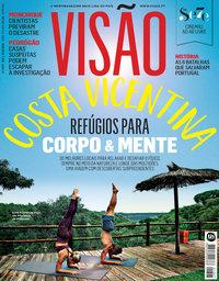 capa Visão de 9 agosto 2018