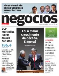 capa Jornal de Negócios de 15 fevereiro 2018