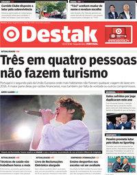capa Jornal Destak de 2 julho 2018