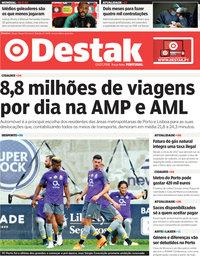 capa Jornal Destak de 3 julho 2018