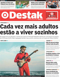 capa Jornal Destak de 9 julho 2018