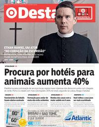 capa Jornal Destak de 12 julho 2018